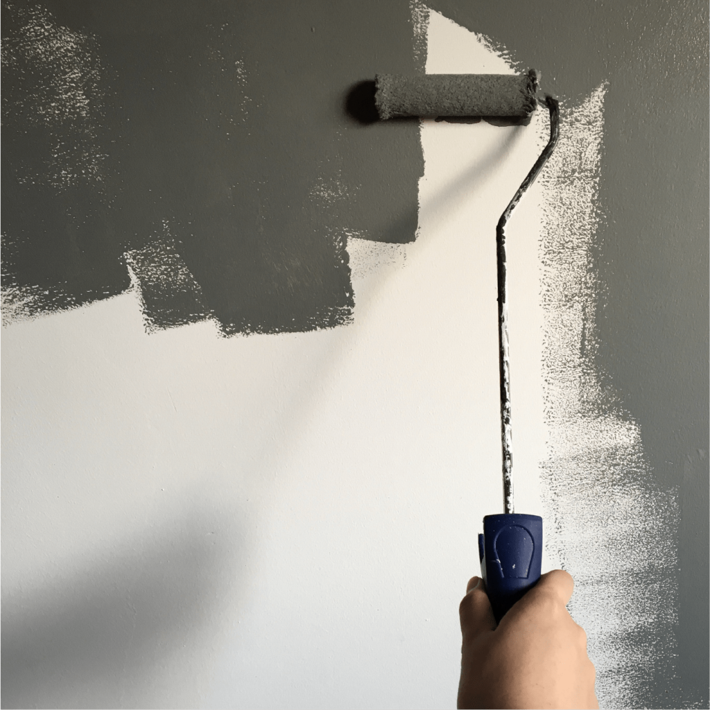 Tips to get an even and smooth coats with chalkboard paint.